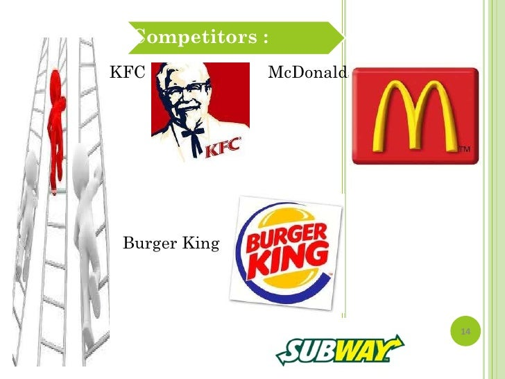 competitor analysis of kfc Combining empirical findings and analysis, two models were derived for kfc   compared with its biggest competitor in the chinese market kentucky fried.