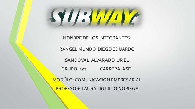 NONBRE DE LOS INTEGRANTES: RANGEL MUNDO DIEGO EDUARDO SANDOVAL ALVARADO URIEL GRUPO: 407 CARRERA: ASDI MODÚLO: COMUNICACIÓ...