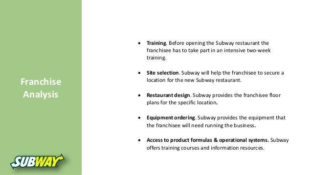 Subway marketing strategy