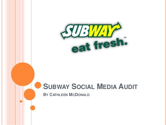 Subway's Clean Slate: Eating Even Fresher and Using a New Logo