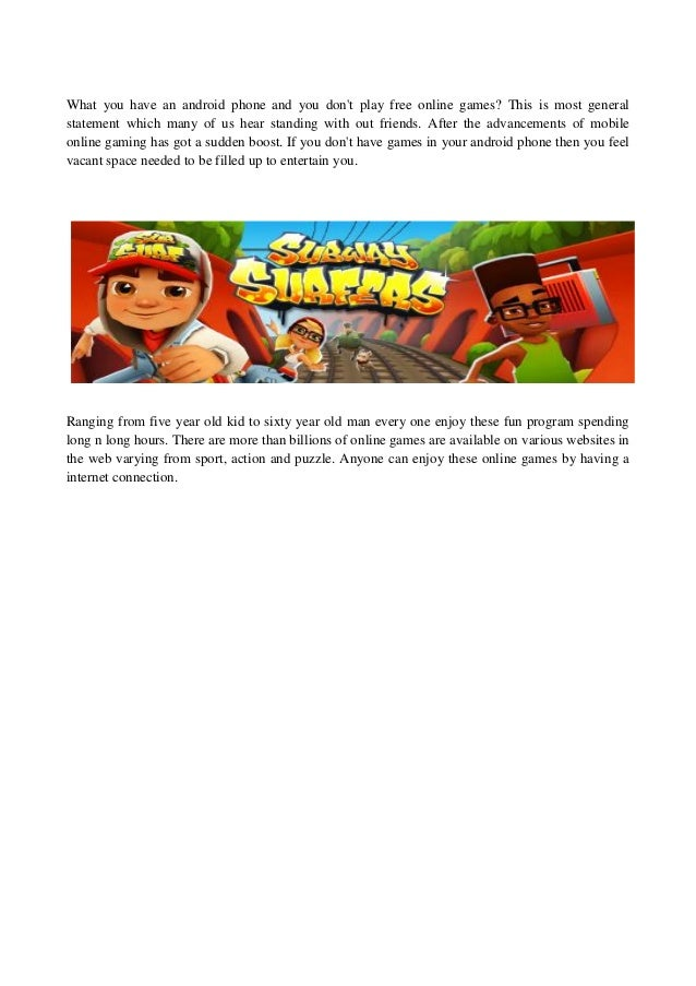 subway surfers game to play free
