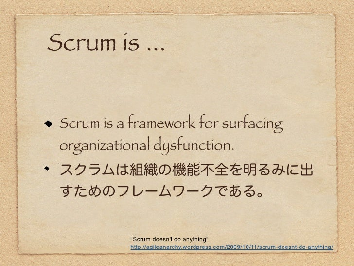 Scrum: A New Way of Thinking   Imagine if our days at work were filled  with laughter and imbibed with a feeling  of camara...