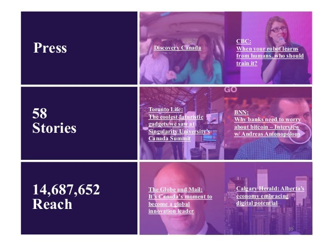 Singularityu Canada Summit 2017 Wrap Report