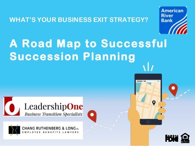 Business planning exit strategy forest