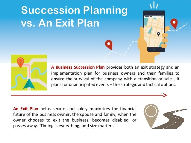 Business planning exit strategy realty