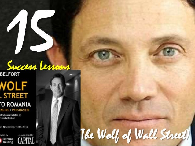 Success Lessons  Jordan Belfort (The Wolf of Wall Street)
