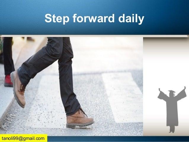 Step forward daily tanoli99@gmail.com