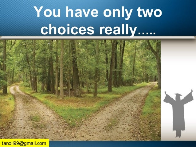 You have only two choices really….. tanoli99@gmail.com
