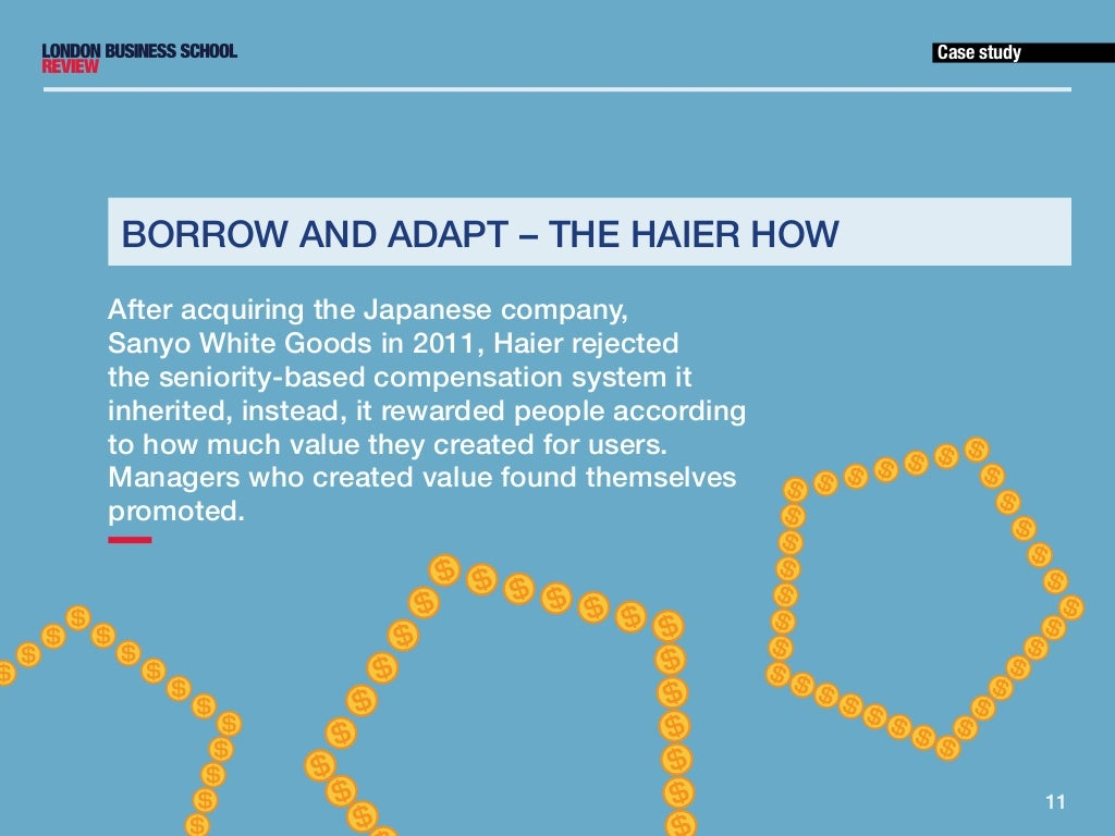haier performance management a By its technical advantage, high-quality service, brand appeal, and management performance during the bidding process, haier became the only bid-awarded brand .