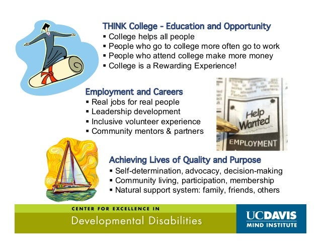 Competitive Integrated Employment  Most People have the ability & desire to engage in meaningful work. And yet. . .  Maj...