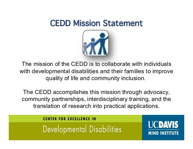  250K+ people served by DDS  50%+ are under 18 [40K are 14 - 21 yrs]  678K+ Special Education Students [CDE]  91k+ stu...