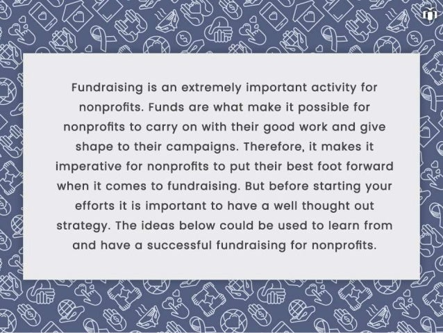 Fundraising for nonprofits – How to run successful campaigns every time. Slide 2