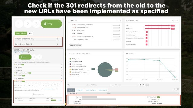 #webmigrations at #EUSearchCon by @aleyda from @orainti Check if the 301 redirects from the old to the  new URLs have bee...