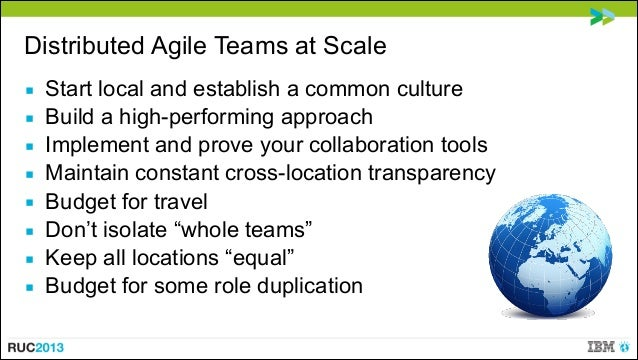 Successful Agile Teams At Scale