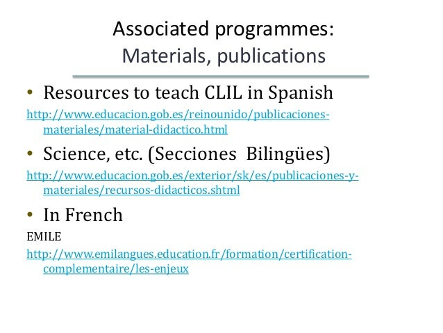 successful bilingual programmes