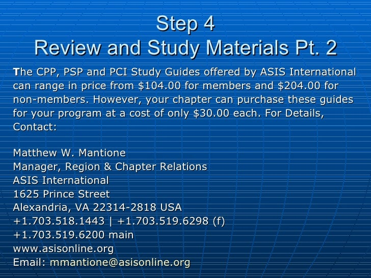 ASIS PSP Exam Questions download - ASIS PSP Free PDF ...