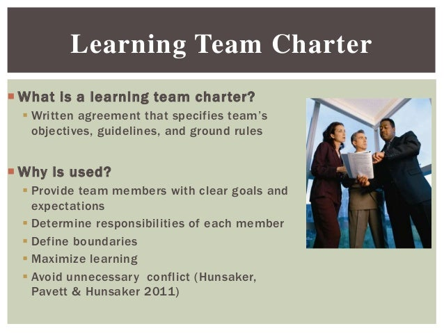 importance of a team charter Read this essay on importance of team charter come browse our large digital warehouse of free sample essays get the knowledge you need in order to pass your classes and more.