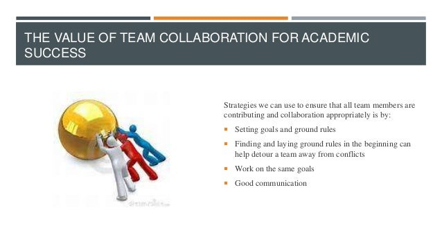 Collaborative For Student Success ~ Successful collaboration and team dynamics d