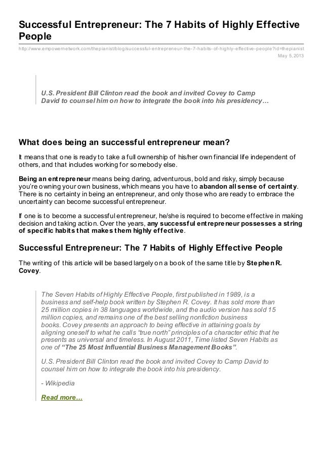 http://www.empowernetwork.com/thepianist/blog/successful-entrepreneur-the-7-habits-of-highly-effective-people?id=thepianis...