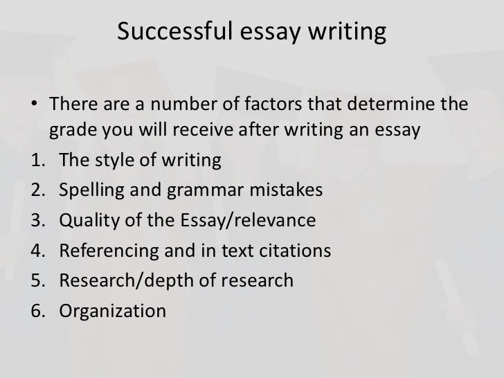 success essay writing