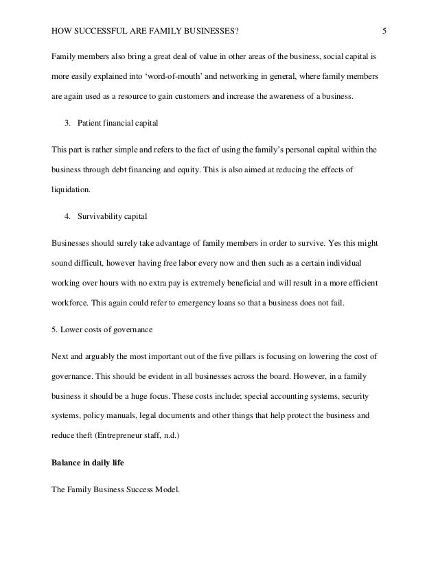 An Essay On Health  Narrative Essays Examples For High School also Reflection Paper Example Essays Successful Family Business Final Paper English Short Essays