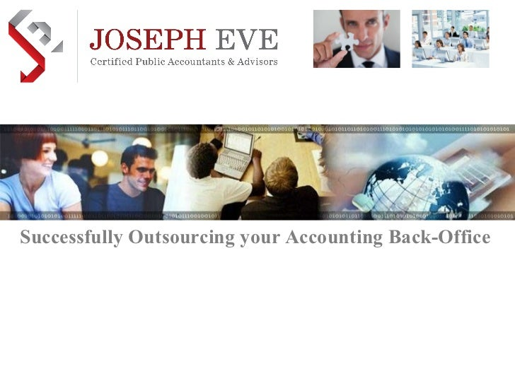 Successfully Outsourcing your Accounting Back-Office