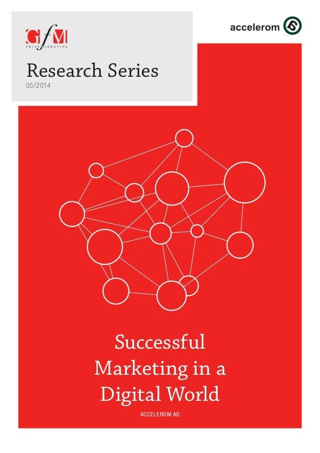 Successful Marketing In A Digital World