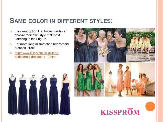 Most flattering bridesmaid dress color