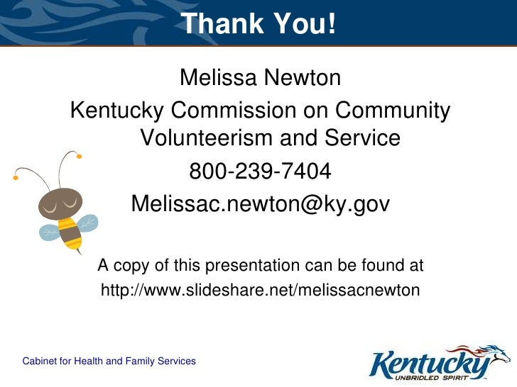 kentucky cabinet for health and family services successful mulit generation volunteer programs 18066