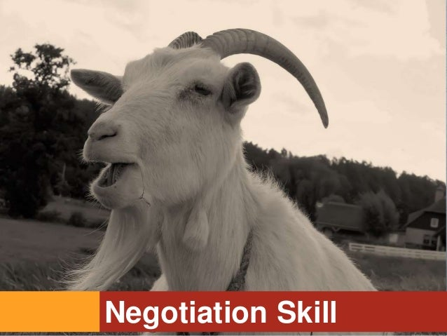 Negotiation Skill