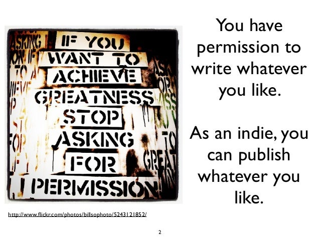 Prerequisites For Successful Self-Publishing Slide 2