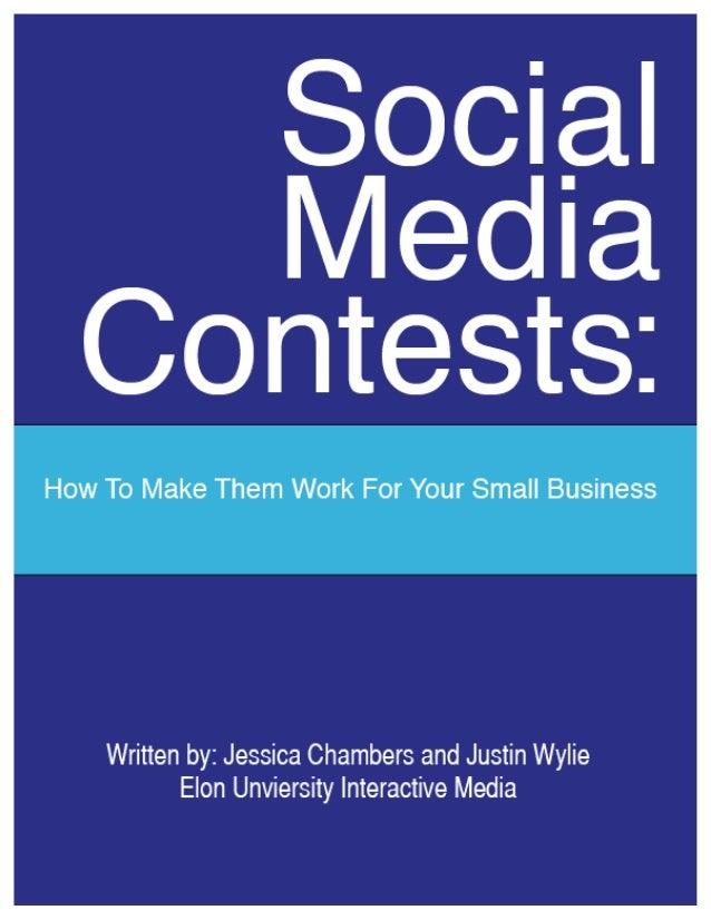 Social Media Contests 1