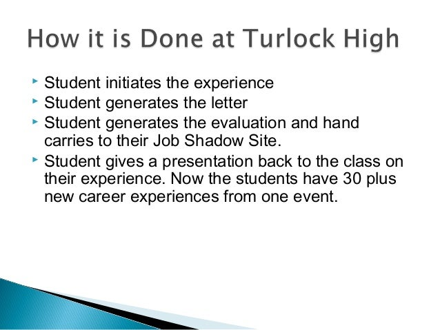  Student initiates the experience  Student generates the letter  Student generates the evaluation and hand carries to t...