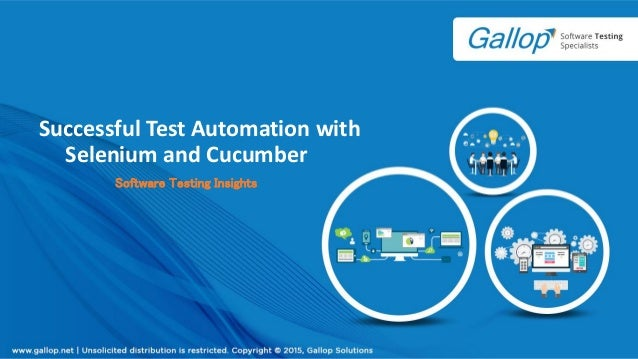 Successful Test Automation with Selenium and Cucumber Software Testing Insights
