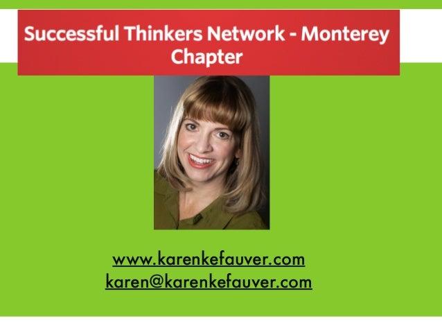 Social Media for Mount with Karen Kefauver  !  !  !  !  F  www.karenkefauver.com  karen@karenkefauver.com