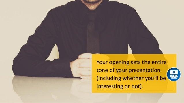 8 Successful Ways to Open Your Speech Slide 3