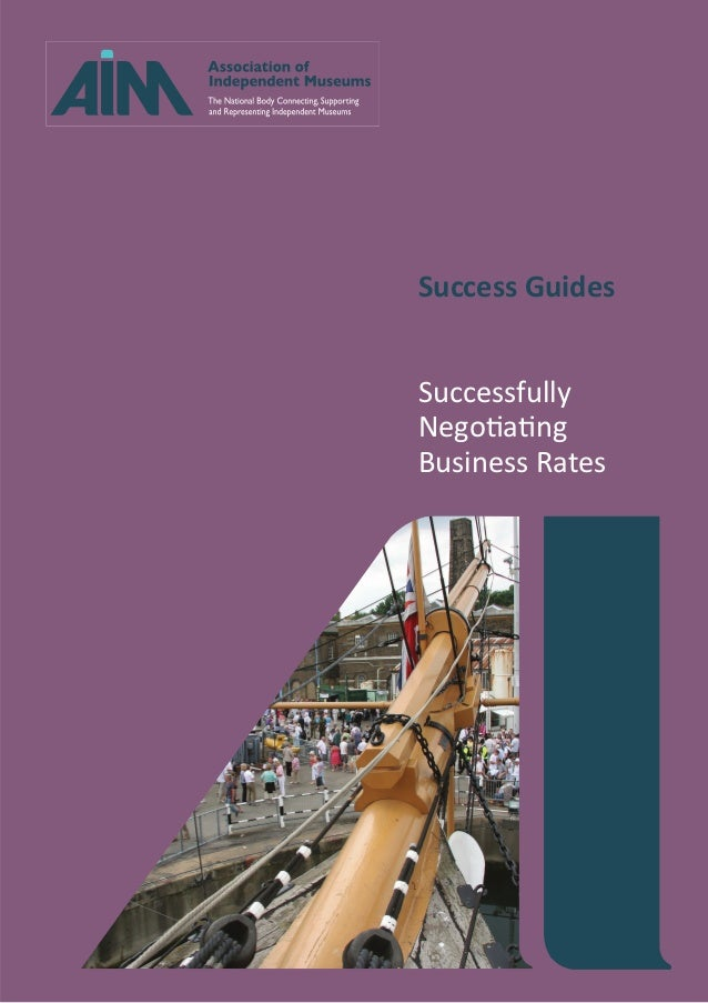 Success Guides Successfully Negotiating Business Rates