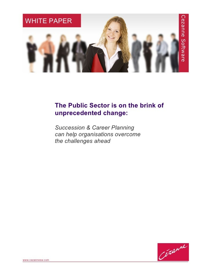 Why work in the public sector?