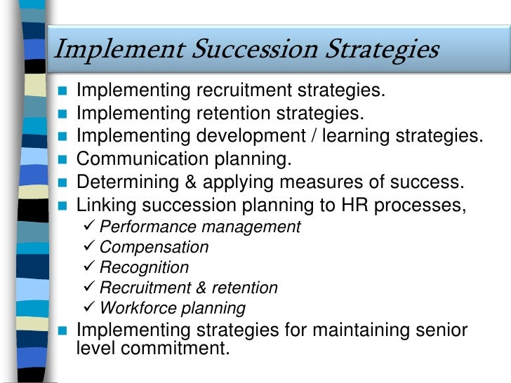Succession Planning Vs. Replacement Planning<br />9<br />