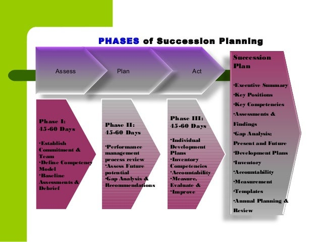 Succession planning for Executive succession planning template