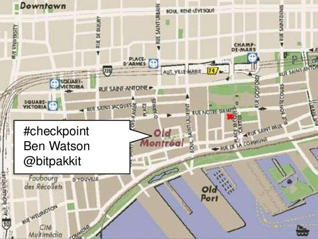 #checkpoint  Ben Watson  @bitpakkit