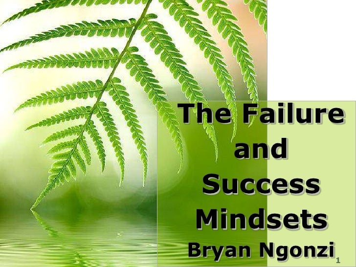 The Failure                       and                     Success                     Mindsetswww.exploreHR.org           ...