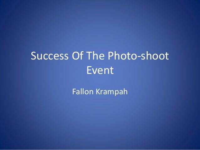 Success Of The Photo-shoot Event Fallon Krampah