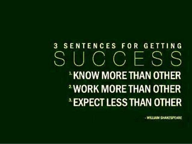 Bon Chances Of Success ...