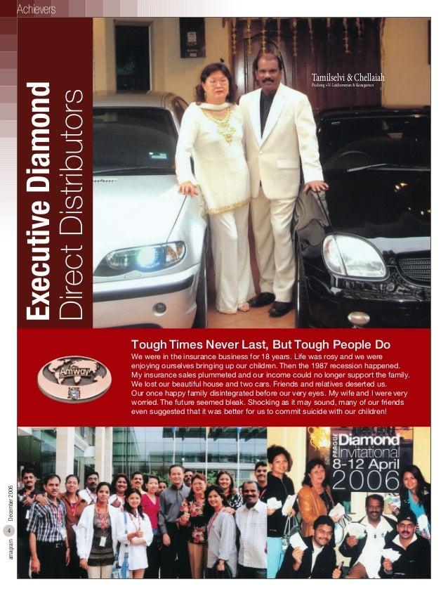 Executive Diamond Direct Distributors  Achievers  Tamilselvi & Chellaiah Puchong • N. Letchumenan & Kanagasvari  Tough Tim...