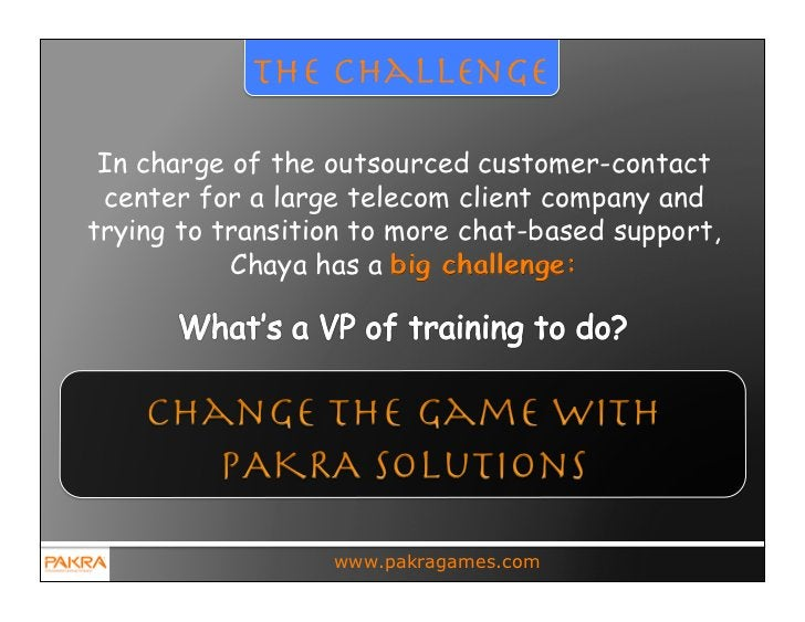 the challenge In charge of the outsourced customer-contact center for a large telecom client company andtrying to transiti...