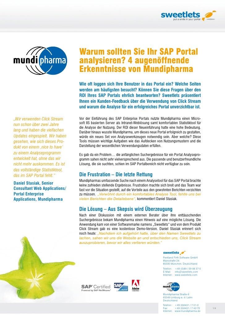 Warum sollten Sie Ihr SAP Portal                                   analysieren? 4 augenöffnende                           ...