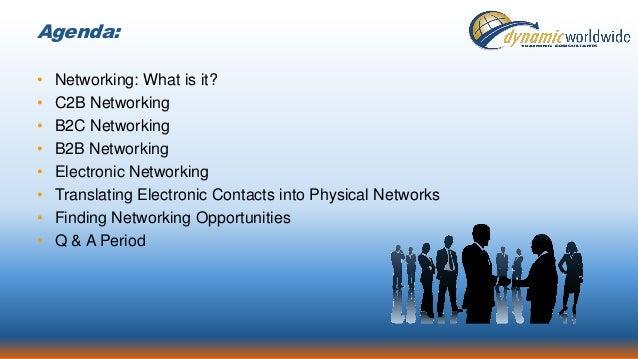 Success through Networking Slide 3