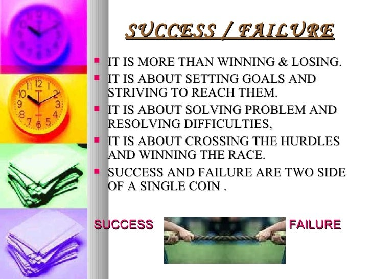 failure vs success To be successful, emotional intelligence has an importance as great as mathematical intelligence therefore, employers are increasingly looking for more people with emotional intelligence researchers have shown that our success at work or in life depends on emotional intelligence 80% and only20% of intellect.