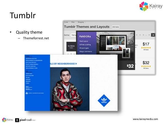 ecommerce tumblr theme